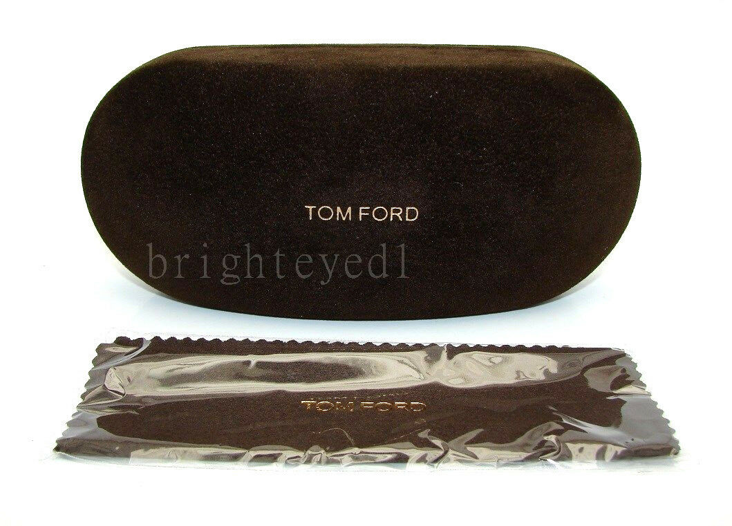 Authentic TOM FORD Brown Suede Sunglass Case *NEW*