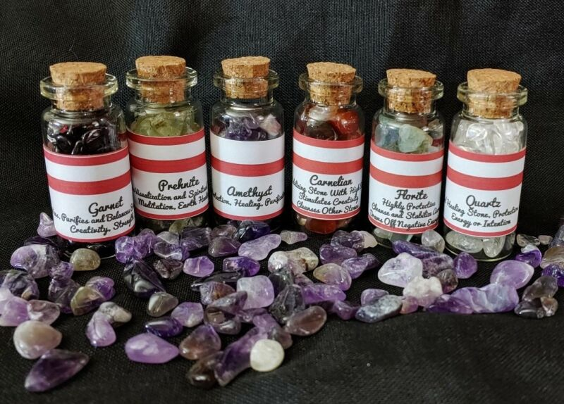 Wiccan Crystal Lot of 6