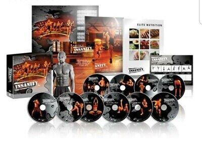 🚨🔥INSANITY BEACH BODY 13 DVD SET (HOME TRAINING EXERCISE FITNESS FULL BODY🔥🚨