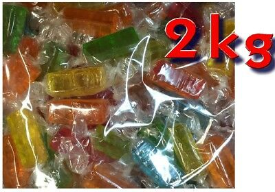 Fruit Cocktail 2kg Bulk Lollies Party Favor Candy Buffet Halloween Sweets Lolly