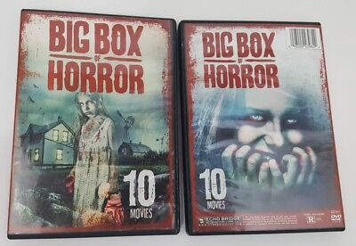 Big Box of Horror DVD 2016 2 Disc Set 10 Movies 14 Hours - Halloween 10 Hours