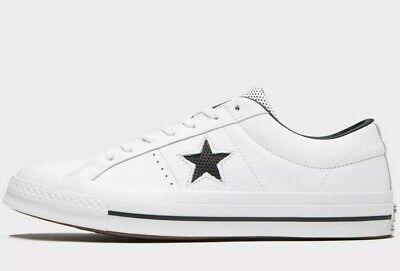 ,,,,,,,,,,,Converse One Star Pro Leather Ox White Black [158464C] Multi Size NEW