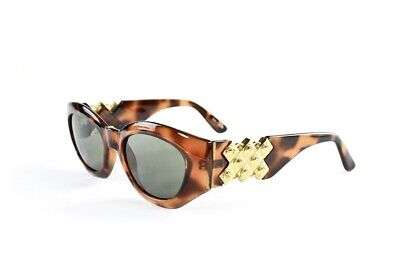 Black/Brown/Gold Versace Sunglasses