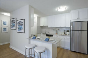 Condo quality 2 bedrooms at Braemar Gardens ready mid June!