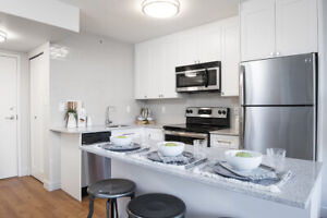Fully renovated stylish studio suites at Nelson & Burrard!