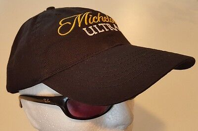 Michelob Ultra Black Adjustable Cap Hat