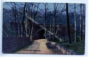 (Le5267-477) Courting Bridge, Esholt   Unused G-VG