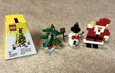 LEGO CHRISTMAS (LOT OF 4) 5004934, 30008, 30009, 40001 (COMPLETE SETS)