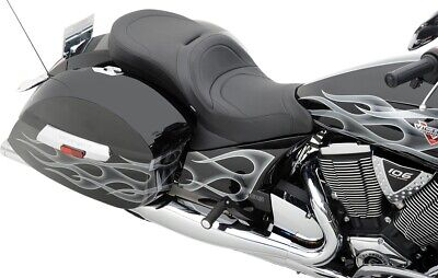 Drag Specialties Front Low-Profile Touring Seat for 10-15 Victory Cross Roads