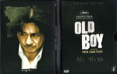 OLD BOY Park Chan-Wook Edition Ultime New 3 DVD - FREE POST mmoetwil@hotmail.com