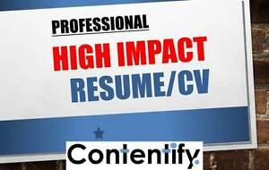 Resume, CV, Cover Letter, Selection Criteria Writer  | Contentify Perth Perth City Area Preview