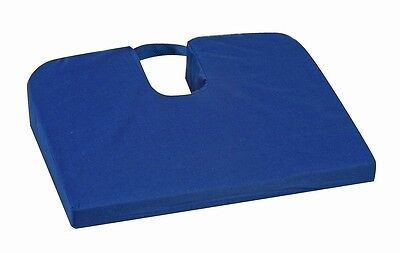 Sloping Seat Mate Coccyx Cushion, Navy Blue, One