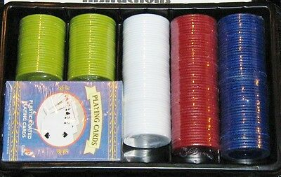 Cardinal's Texas Hold 'Em Tournament Poker Set in Fabric Carrying Case