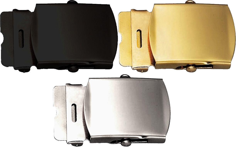 Web Belt Buckle 1.25″ Replacement Metal Sliding Uniform Military Army Tactical Belt Buckles