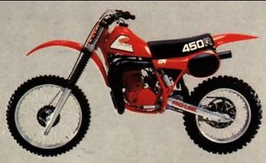 WANTED 1981 HONDA CR 450R PARTS