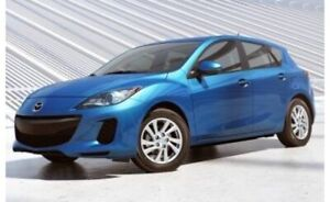 2013 manual Mazda 3 Hatchback SkyActiv