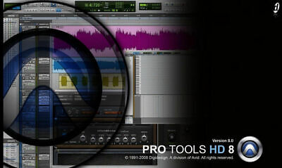 Avid Digidesign Pro Tools HD8 iLok LicenseTransfer  segunda mano  Embacar hacia Argentina