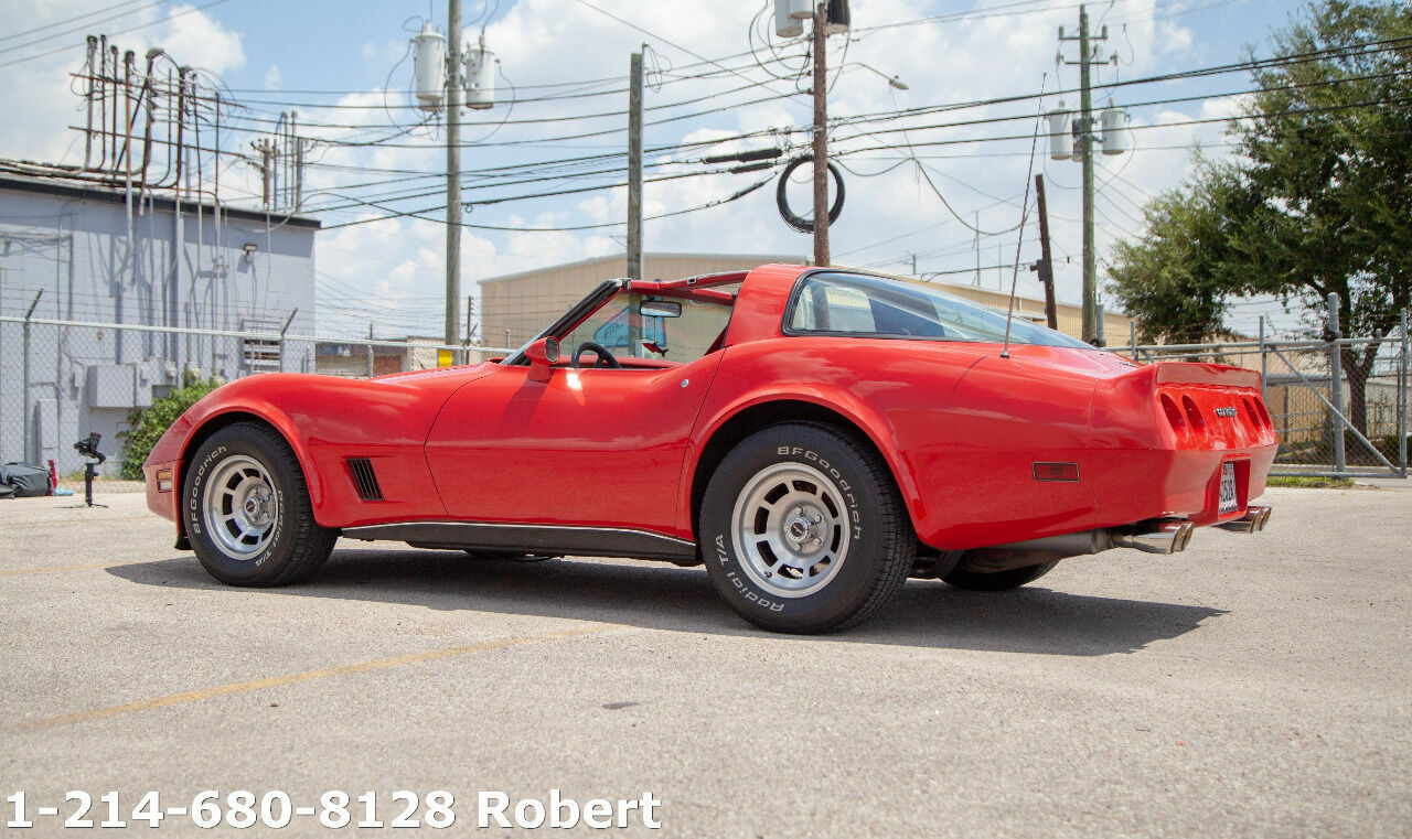 1980 Red Chevrolet Corvette   | C3 Corvette Photo 10