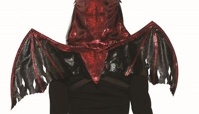 Demons & Devils Wings Adult Halloween Costume Accessory Dark Demon Vampire - Demon Costume Wings
