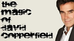 The Magic of David Copperfield 4-DVD Set