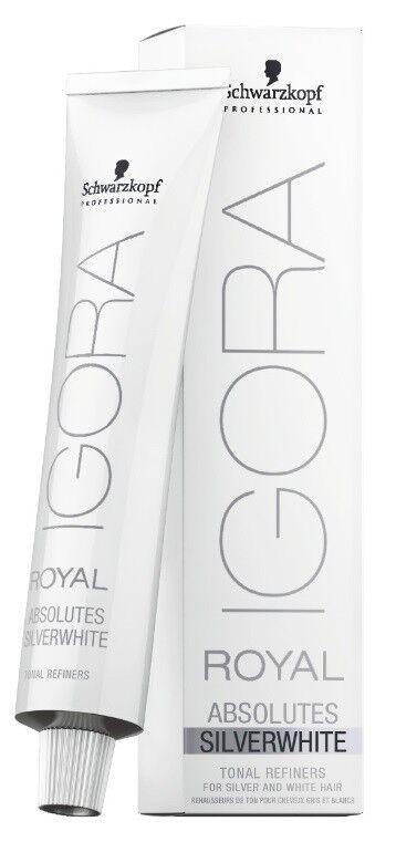 Schwarzkopf Igora Royal Absolutes Silverwhite 60ml Haarfarbe