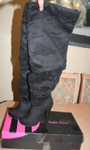 Michael Antonio Mckay Thigh-High High Heel Boots - Size 6