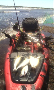 Kayak & 24lb trolling motor Ferryden Park Port Adelaide Area Preview
