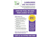 **Landlords! Are you licensed?**