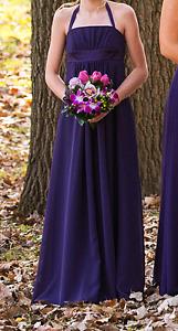 Beautiful Eggplant formal dress (10-11yr old)