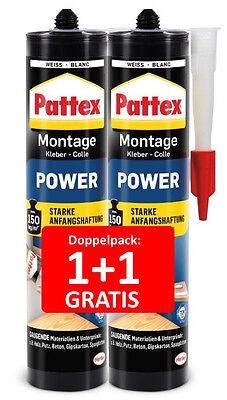 Pattex Montage Spezial Kartusche 290g Transparenter Montagekleber Klebstoff Kleber