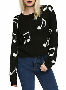 Music note pullover