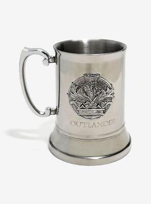 Dark Horse Deluxe Outlander The Series Stainless Steel Stein Mug Thistle Crown
