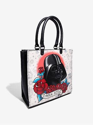 Loungefly Star Wars Darth Vader Dark Side Tattoo Purse Tote Bag Satchel (Star Wars Tote Bag)