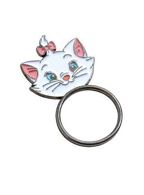 DISNEY MOVIE OFFICIAL LICENSED ARISTOCATS MARIE KITTY CAT ENAMEL RING SIZE  7NEW