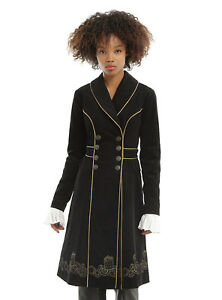 DR. WHO LICENSED EMBROIDERED COAT *NEW WITH TAGS*