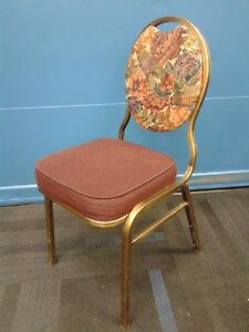 Used Stackable Dining Hall Chairs