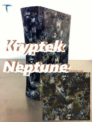 Hydrographic Water Transfer Film 19x79 Print Kryptek Neptune Camo Blue Brwon Us
