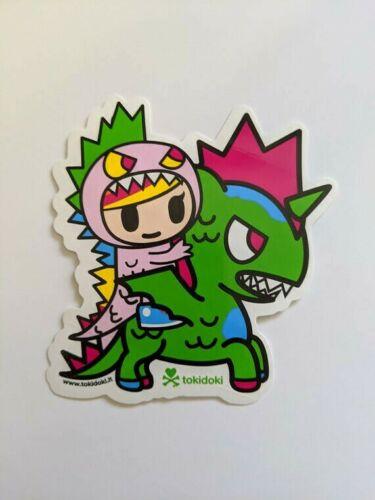 tokidoki sticker - Little Terror and Kaijucorno