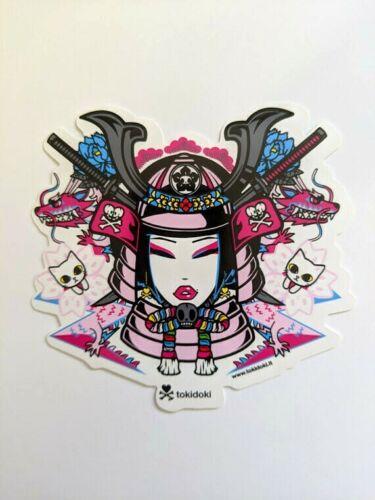 tokidoki sticker - Samurai Girl
