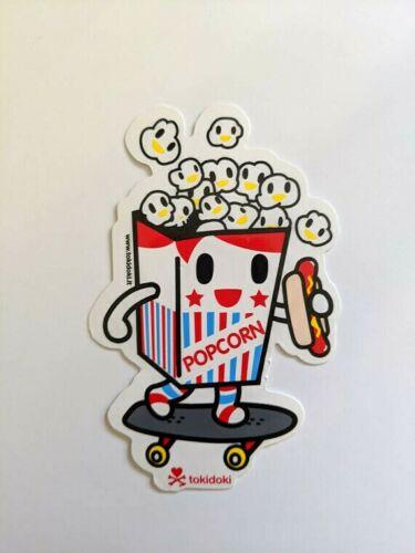 tokidoki sticker - Popcorn Guy