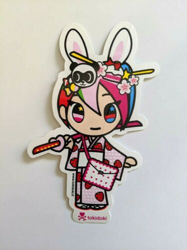 tokidoki sticker - Nijiko