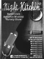 Belleville's acoustic musical variety show