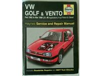 VolksWagen Golf service manual