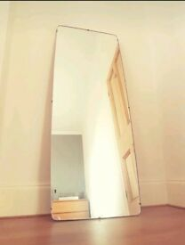 Retro teak mid century original long G Plan E Gomme mirror