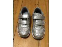 Clarks girls trainers size 10 E