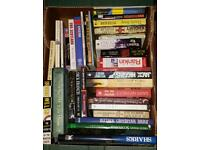 Collection of mainly male genre fiction books