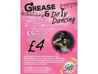 Grease/Dirty Dancing LIVE Act at Gala Bingo Fenton