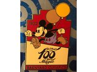 Disney JAPAN Pin Walt 100 Magic LE 2600 Barnyard Olympics 1932 Mickey