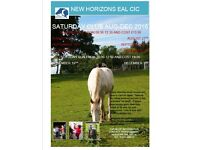 New Horizons EAL CIC Saturday Club September - December 2016