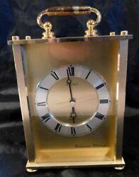 SEIKO Quartz WESTMINSTER-WHITTINGTON Chime Gold MANTLE CLOCK QF142G Retail $250